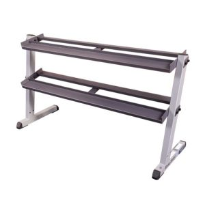 GDR60- 62& Wide 2- Tier Dumbbell Rack