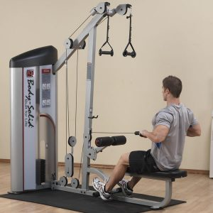 S2LAT  LAT PULLDOWN & SEATED ROW