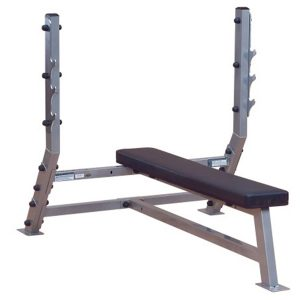 SFB-349G+SPS-12- Pro Club Line Flat Olympic Bench